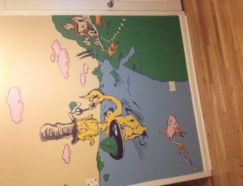 Suess mural