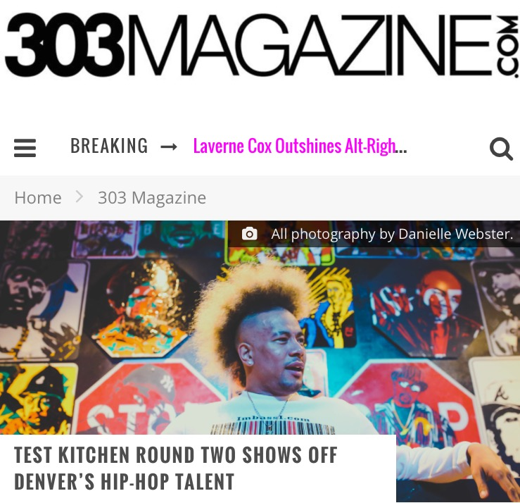 303 magazine reviews Test Kitchen