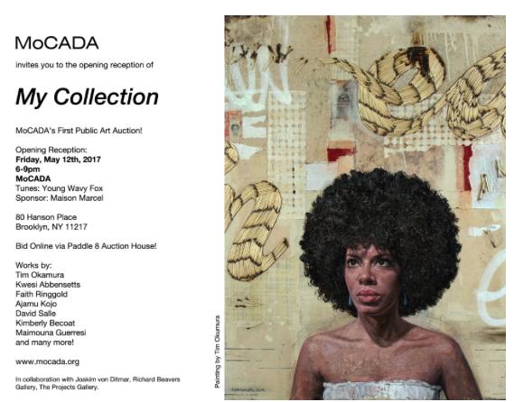 MoCADA Exhibition & Auction – New York