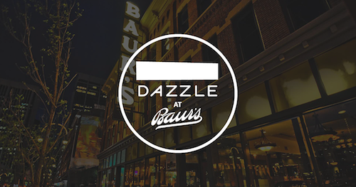 New display – Dazzle at Baur's