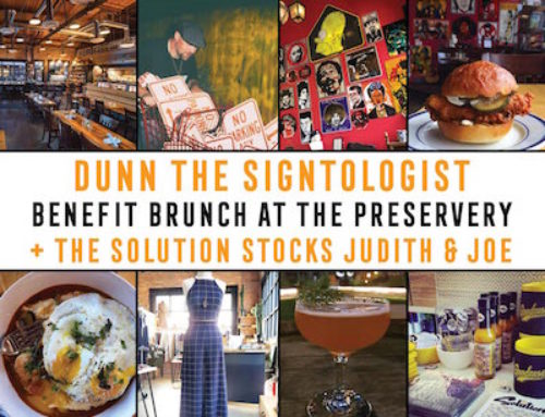 The Solution presents The Signtologist Benefit at The Preservery